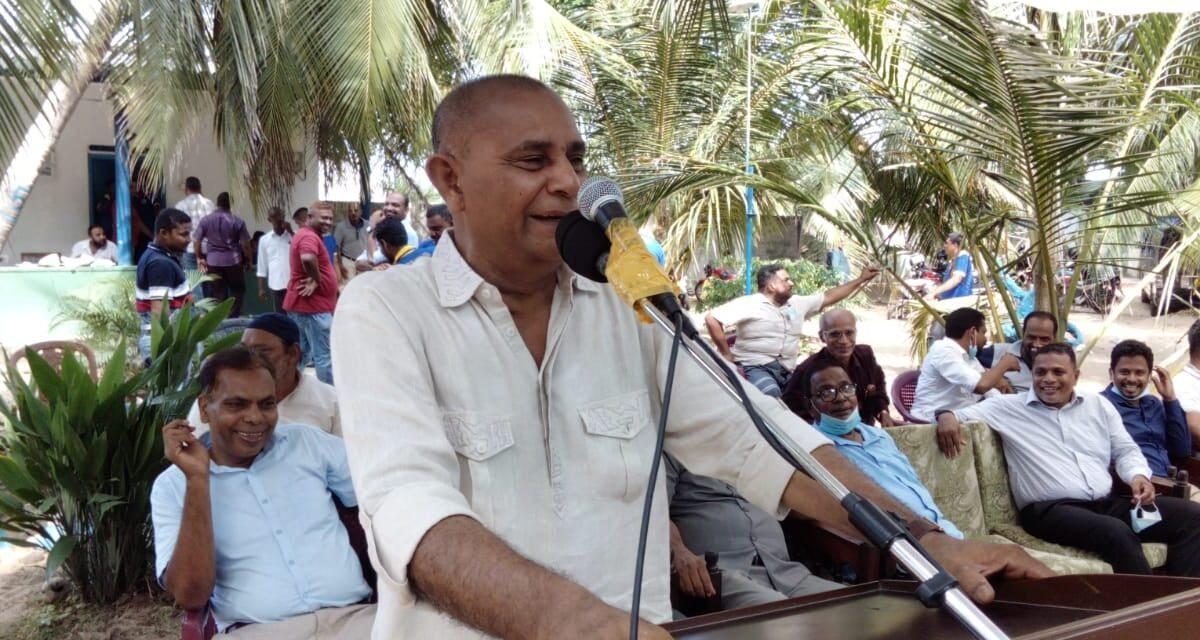 பல்நோக்கு அபிவிருத்தி செயலணி ஊழியர்களின் ஒன்றுகூடல் :
