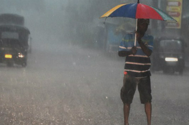 Nine districts to receive heavy rains above 100mm