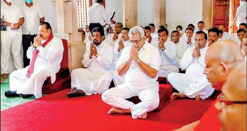 மஹிந்த தலைமையில் நேற்று நடந்த ஆளுங்கட்சி சந்திப்பில் மோதல்!
