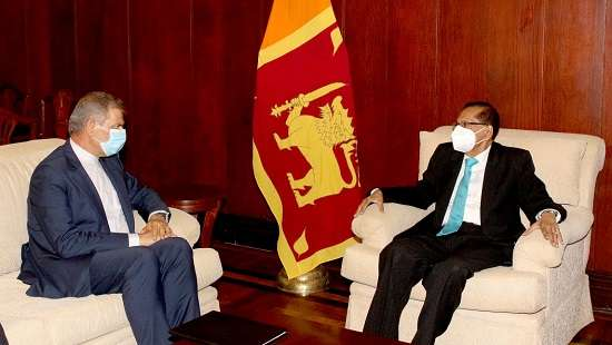 Foreign Minister Prof. G.L. Peiris calls for enhanced economic cooperation with Iran